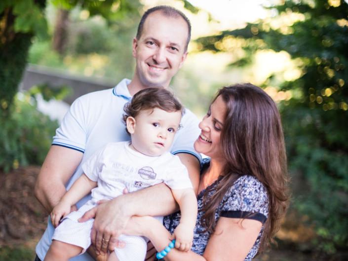 Antonella, Robert e Federico